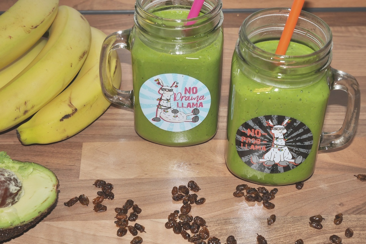 Spinat-Sellerie-Smoothie